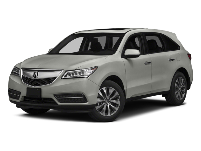 Silver Moon 2014 Acura MDX Pictures MDX Utility 4D Technology DVD AWD V6 photos front view