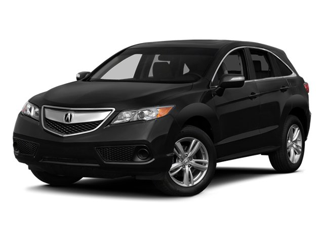 Crystal Black Pearl 2014 Acura RDX Pictures RDX Utility 4D AWD V6 photos front view