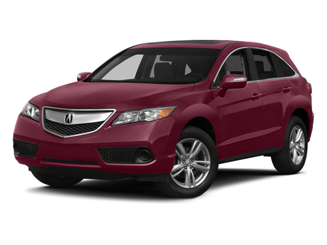 Basque Red Pearl II 2014 Acura RDX Pictures RDX Utility 4D AWD V6 photos front view
