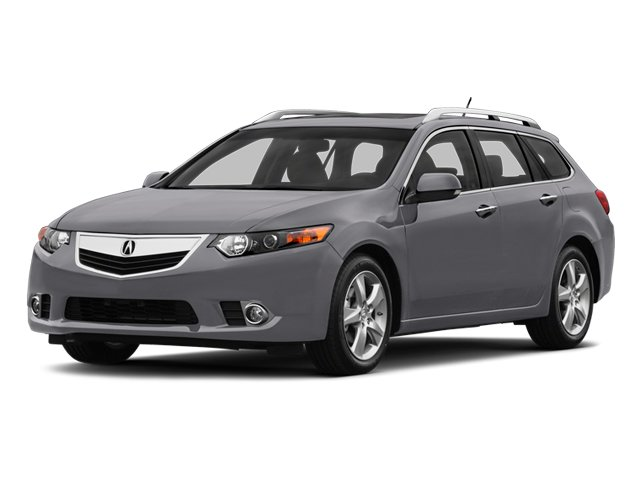 Forged Silver Metallic 2014 Acura TSX Sport Wagon Pictures TSX Sport Wagon 4D I4 photos front view