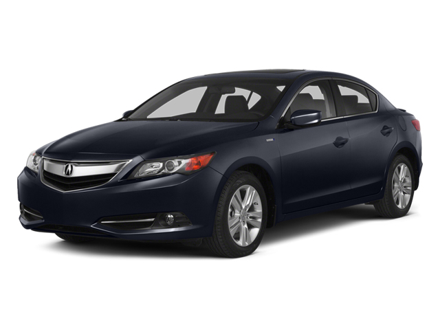 Fathom Blue Pearl 2014 Acura ILX Pictures ILX Sedan 4D Hybrid Technology I4 photos front view