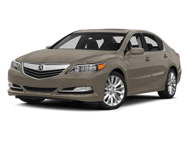 Gilded Pewter Metallic 2014 Acura RLX Pictures RLX Sedan 4D Technology V6 photos front view