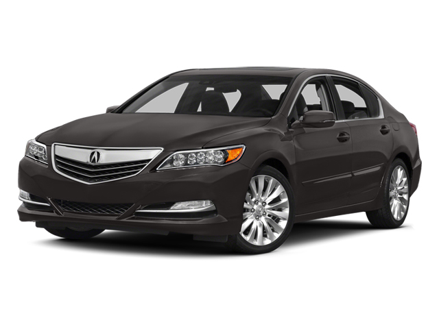 Graphite Luster Metallic 2014 Acura RLX Pictures RLX Sedan 4D Technology V6 photos front view