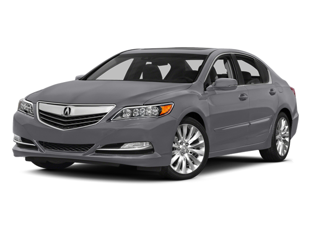 Forged Silver Metallic 2014 Acura RLX Pictures RLX Sedan 4D Technology V6 photos front view