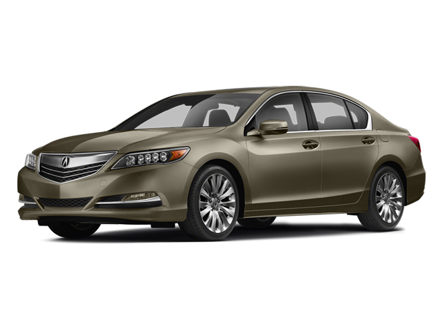 Gilded Pewter Metallic 2014 Acura RLX Pictures RLX Sedan 4D Advance V6 photos front view