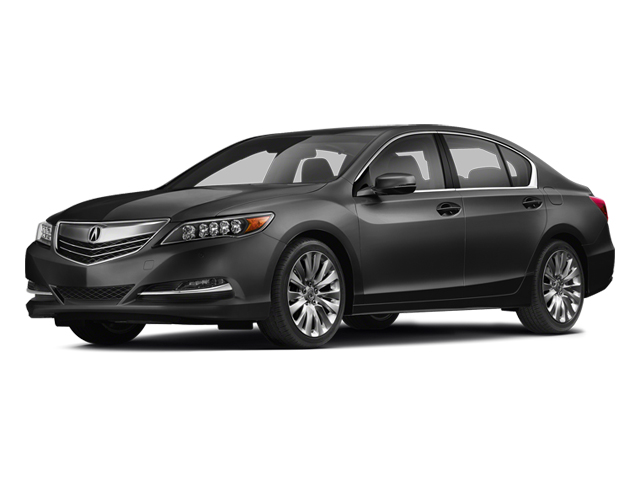 Graphite Luster Metallic 2014 Acura RLX Pictures RLX Sedan 4D Advance V6 photos front view