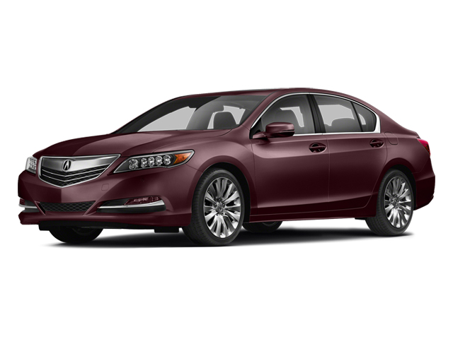 Pomegranate Pearl 2014 Acura RLX Pictures RLX Sedan 4D Advance V6 photos front view