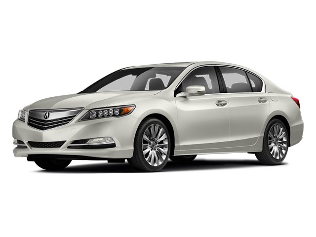 Bellanova White Pearl 2014 Acura RLX Pictures RLX Sedan 4D Advance V6 photos front view