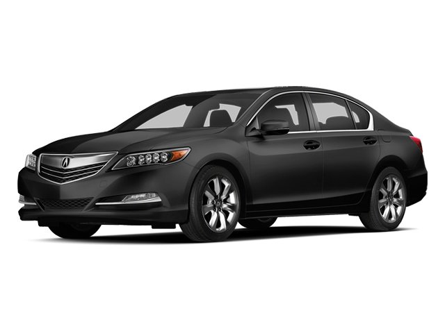 Crystal Black Pearl 2014 Acura RLX Pictures RLX Sedan 4D Navigation V6 photos front view