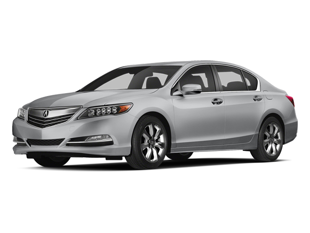 Silver Moon 2014 Acura RLX Pictures RLX Sedan 4D V6 photos front view
