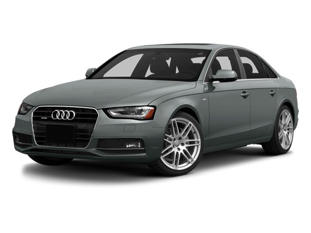 Monsoon Gray Metallic 2014 Audi A4 Pictures A4 Sedan 4D 2.0T Prestige 2WD photos front view