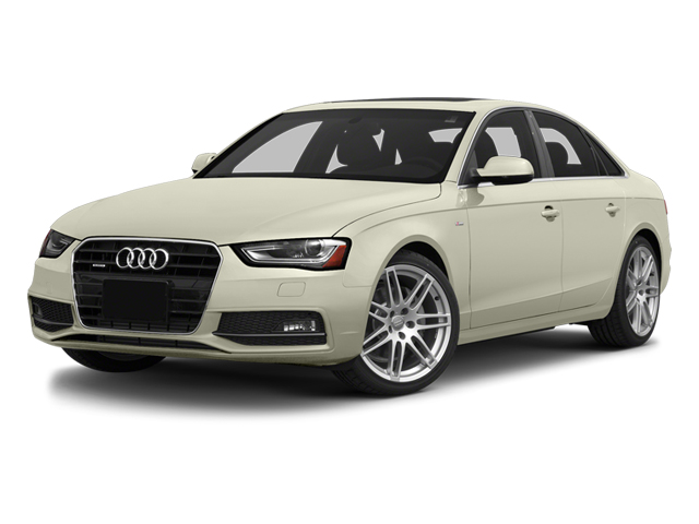 Glacier White Metallic 2014 Audi A4 Pictures A4 Sedan 4D 2.0T Prestige 2WD photos front view
