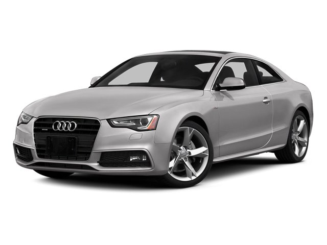 Cuvee Silver Metallic 2014 Audi A5 Pictures A5 Coupe 2D Premium Plus AWD photos front view