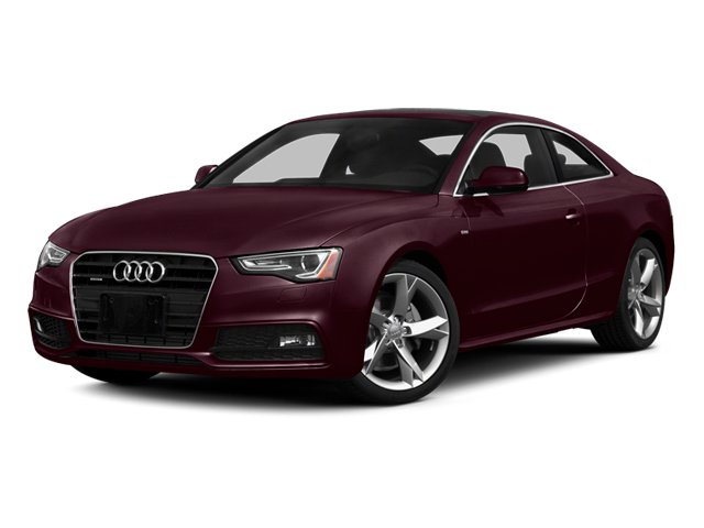 Shiraz Red Metallic 2014 Audi A5 Pictures A5 Coupe 2D Premium Plus AWD photos front view