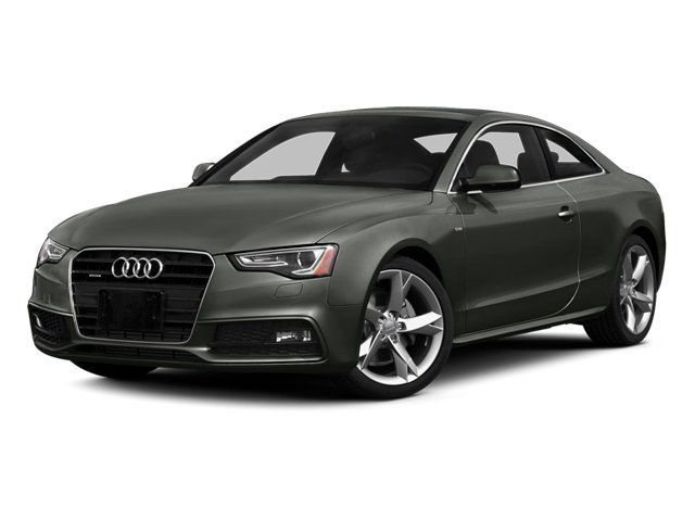Daytona Gray 2014 Audi A5 Pictures A5 Coupe 2D Prestige AWD photos front view