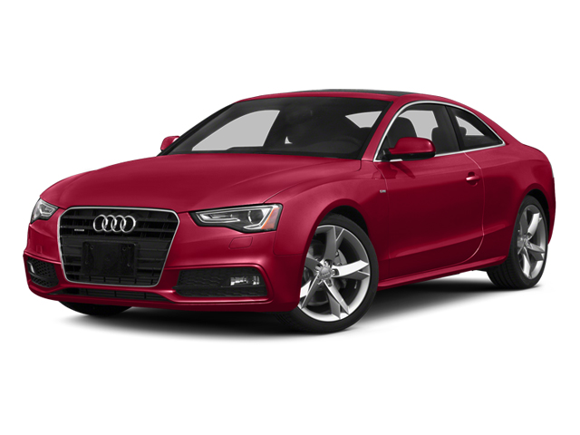 Brilliant Red 2014 Audi A5 Pictures A5 Coupe 2D Premium Plus AWD photos front view