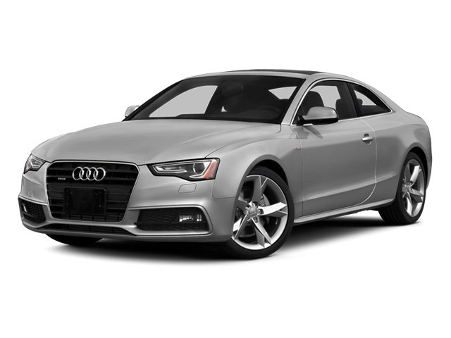 Ice Silver Metallic 2014 Audi A5 Pictures A5 Coupe 2D Premium Plus AWD photos front view