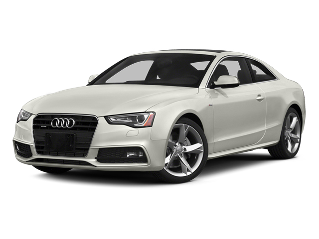 Ibis White 2014 Audi A5 Pictures A5 Coupe 2D Premium Plus AWD photos front view
