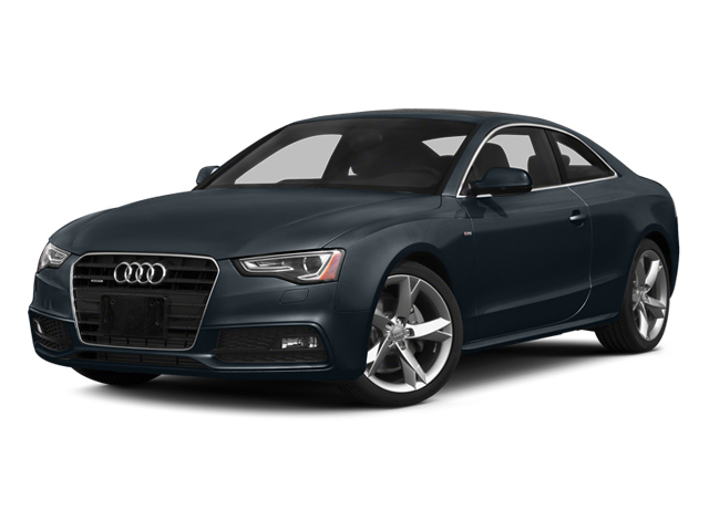 Moonlight Blue Metallic 2014 Audi A5 Pictures A5 Coupe 2D Prestige AWD photos front view