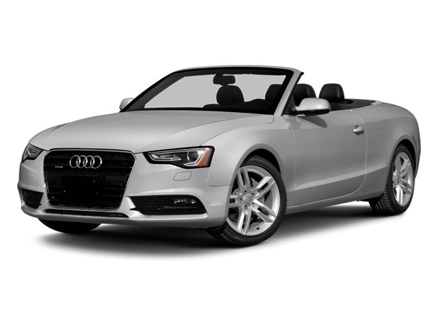 Cuvee Silver Metallic/Black Roof 2014 Audi A5 Pictures A5 Convertible 2D Premium 2WD photos front view