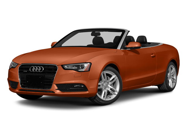 Volcano Red Metallic/Black Roof 2014 Audi A5 Pictures A5 Convertible 2D Premium 2WD photos front view