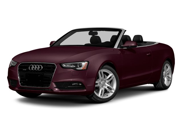 Shiraz Red Metallic/Black Roof 2014 Audi A5 Pictures A5 Convertible 2D Premium 2WD photos front view