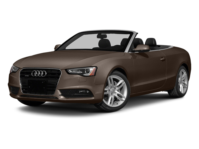 Teak Brown Metallic/Black Roof 2014 Audi A5 Pictures A5 Convertible 2D Premium AWD photos front view