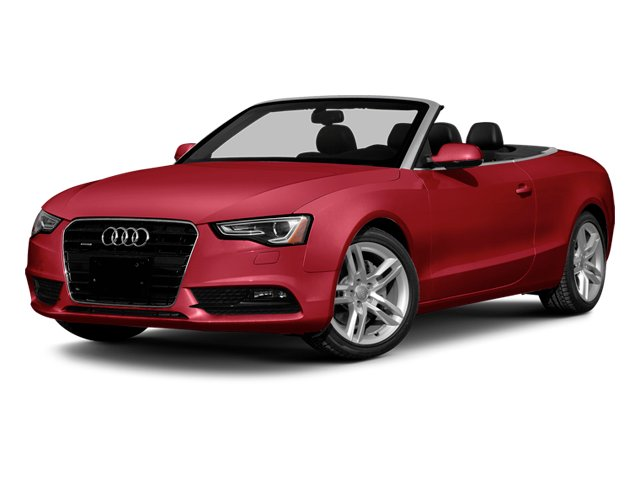 Brilliant Red/Black Roof 2014 Audi A5 Pictures A5 Convertible 2D Premium AWD photos front view