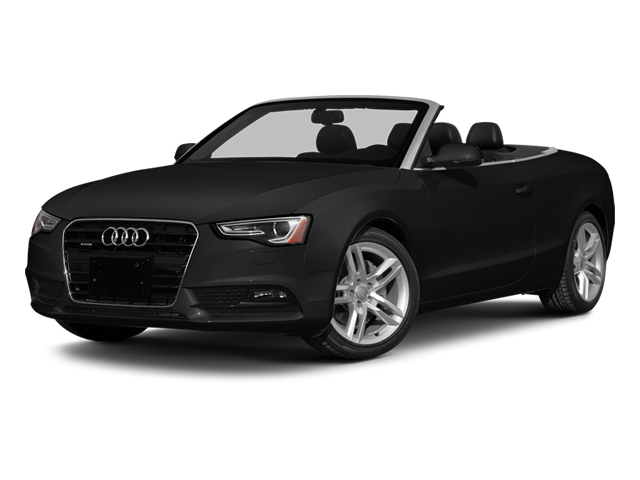 Phantom Black Pearl Effect/Black Roof 2014 Audi A5 Pictures A5 Convertible 2D Premium 2WD photos front view