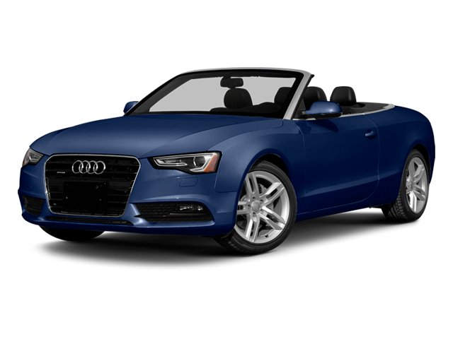 Scuba Blue Metallic/Black Roof 2014 Audi A5 Pictures A5 Convertible 2D Premium 2WD photos front view