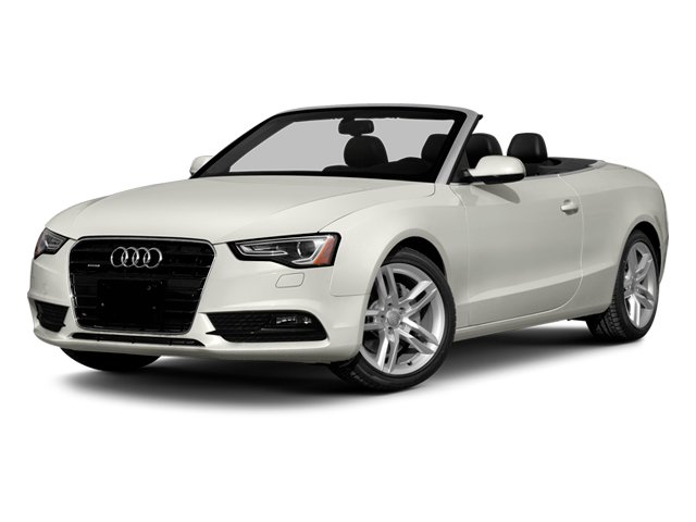 Ibis White/Black Roof 2014 Audi A5 Pictures A5 Convertible 2D Premium 2WD photos front view