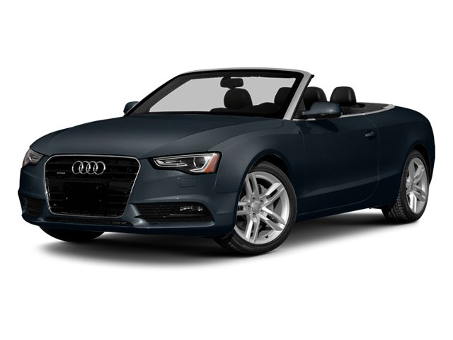 Moonlight Blue Metallic/Black Roof 2014 Audi A5 Pictures A5 Convertible 2D Premium 2WD photos front view
