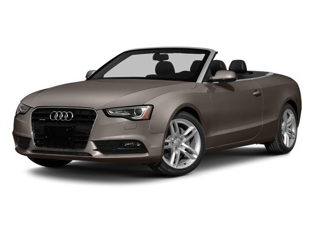 Dakota Gray Metallic/Black Roof 2014 Audi A5 Pictures A5 Convertible 2D Premium 2WD photos front view