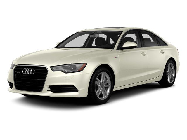 Glacier White Metallic 2014 Audi A6 Pictures A6 Sedan 4D 2.0T Premium Plus 2WD photos front view