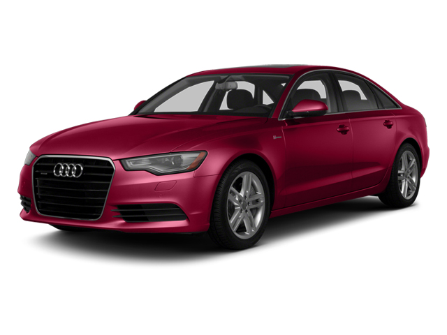 Garnet Red Pearl Effect 2014 Audi A6 Pictures A6 Sedan 4D 2.0T Premium Plus 2WD photos front view