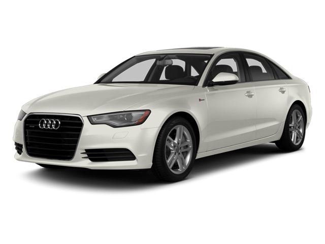 Ibis White 2014 Audi A6 Pictures A6 Sedan 4D 2.0T Premium Plus AWD photos front view