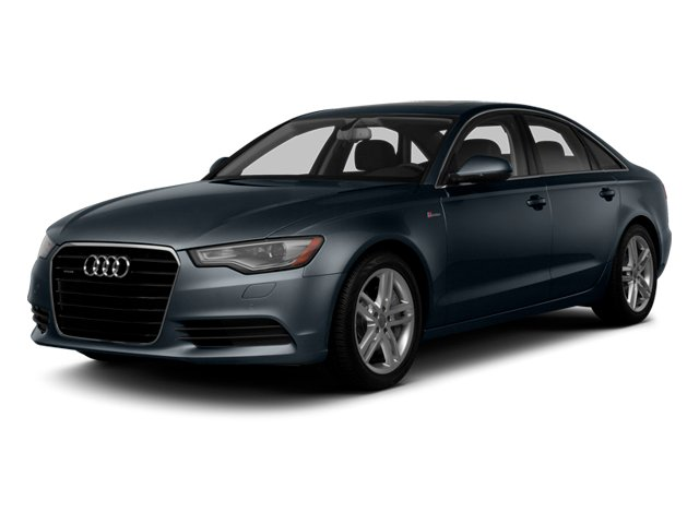 Moonlight Blue Metallic 2014 Audi A6 Pictures A6 Sedan 4D 2.0T Premium Plus AWD photos front view