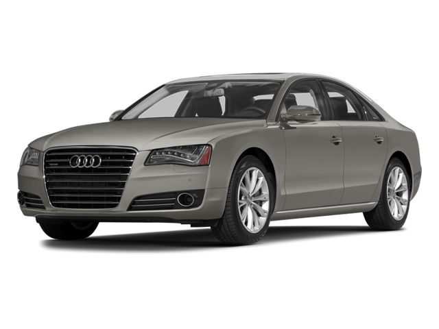 Quartz Gray Metallic 2014 Audi A8 Pictures A8 Sedan 4D 4.0T AWD V8 Turbo photos front view