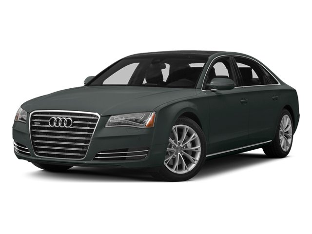Monsoon Gray Metallic 2014 Audi A8 L Pictures A8 L Sedan 4D 3.0T L AWD V6 Turbo photos front view