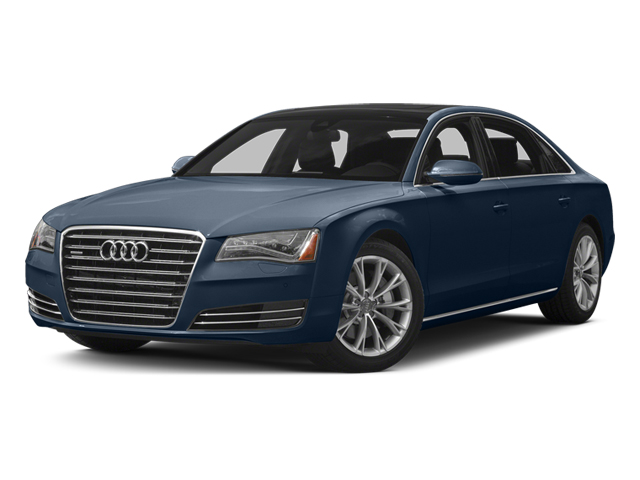 Night Blue Pearl Effect 2014 Audi A8 L Pictures A8 L Sedan 4D 3.0T L AWD V6 Turbo photos front view