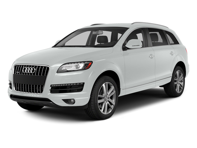 Carrara White 2014 Audi Q7 Pictures Q7 Utility 4D 3.0 Prestige S-Line AWD photos front view