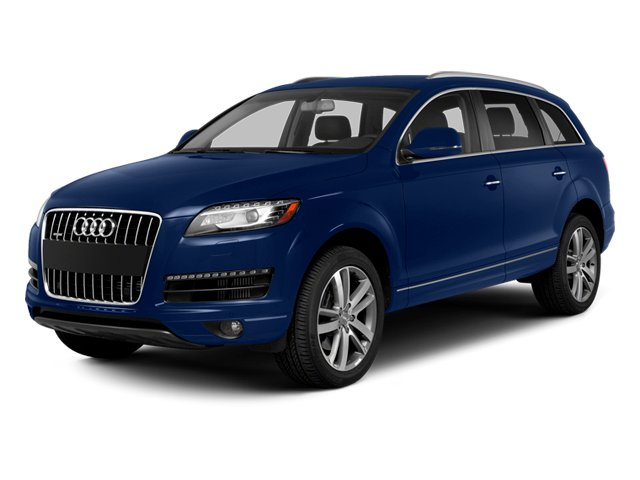 Scuba Blue Metallic 2014 Audi Q7 Pictures Q7 Utility 4D 3.0 Prestige S-Line AWD photos front view
