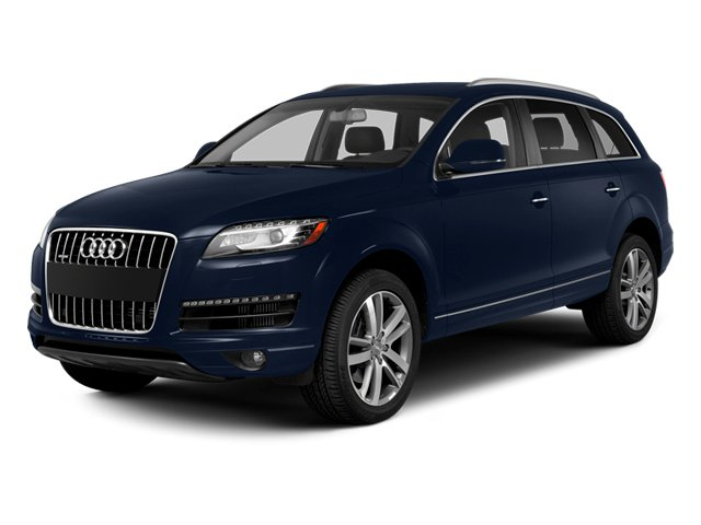Atlantis Blue Metallic 2014 Audi Q7 Pictures Q7 Utility 4D 3.0 Prestige S-Line AWD photos front view