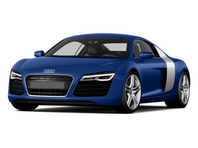 Sepang Blue Pearl Effect 2014 Audi R8 Pictures R8 2 Door Coupe Quattro V10 (Auto) photos front view