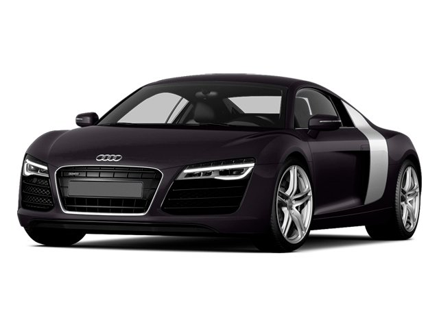Panther Black Crystal Effect 2014 Audi R8 Pictures R8 2 Door Coupe Quattro V8 (Manual) photos front view