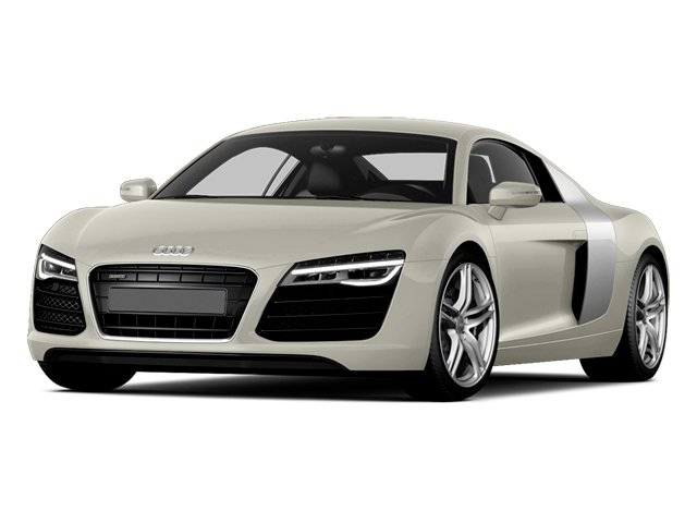 Ice Silver Metallic 2014 Audi R8 Pictures R8 2 Door Coupe Quattro V8 (Manual) photos front view