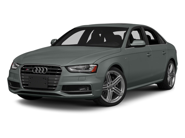 Monsoon Gray Metallic 2014 Audi S4 Pictures S4 Sedan 4D S4 Prestige AWD photos front view