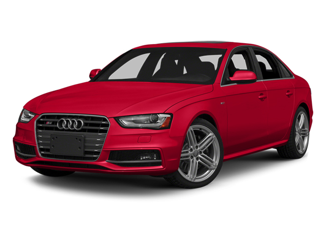 Misano Red Pearl Effect 2014 Audi S4 Pictures S4 Sedan 4D S4 Prestige AWD photos front view
