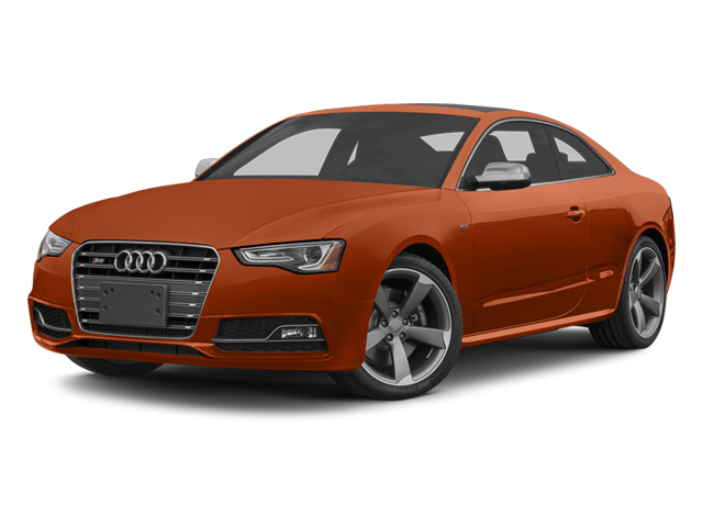 Volcano Red Metallic 2014 Audi S5 Pictures S5 Coupe 2D S5 Premium Plus AWD photos front view