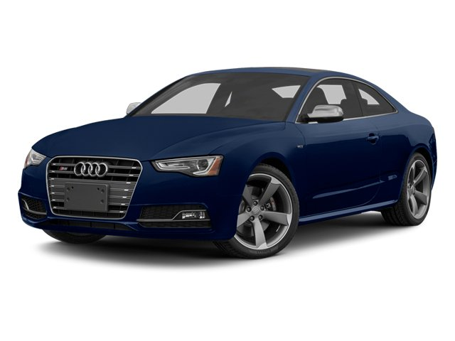 Estoril Blue Crystal Effect 2014 Audi S5 Pictures S5 Coupe 2D S5 Premium Plus AWD photos front view